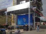 podium,zvuk - dračí lodě