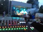 podium, zvuk - Klecany