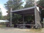 podium, zvuk - Kamenný Újezd
