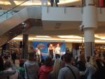 podium, zvuk - OC Letňany