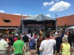 podium a ozvučení - Běchovice